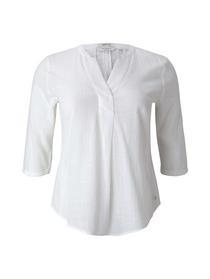 Damen Bluse blouse tunic with pleats