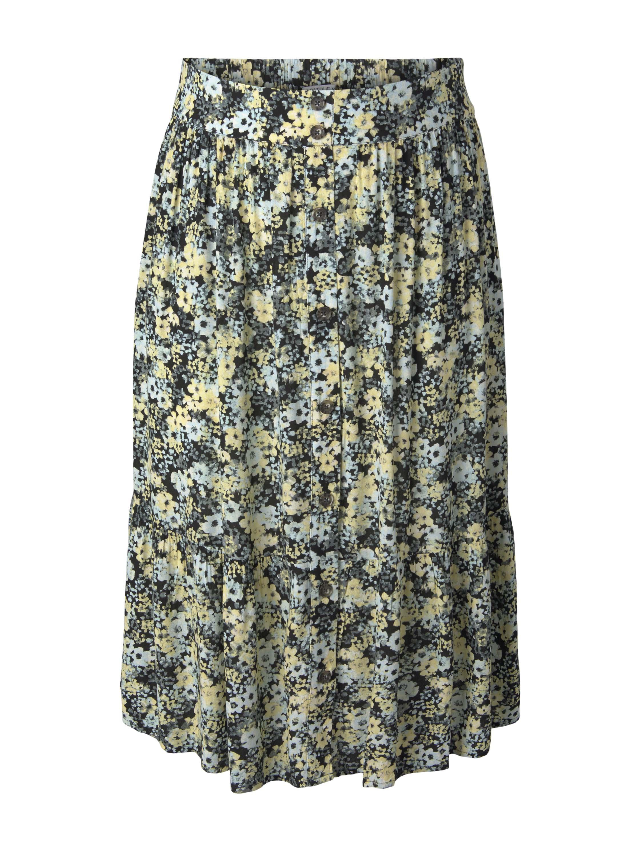 Damen Rock skirt with button placket