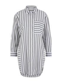 blouse longstyle striped