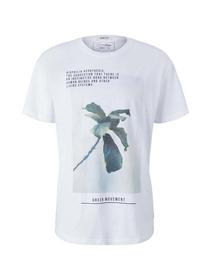 relaxed fotoprint T-shirt