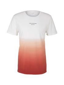 T-shirt with colourflow