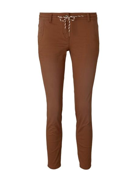 Tom Tailor Tapered relaxed, Caramel Brown
