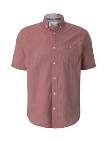 regular two tone twill shirt