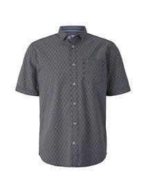 regular print shirt