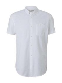 short sleeve shirt with AOP - 26966/white dot tria