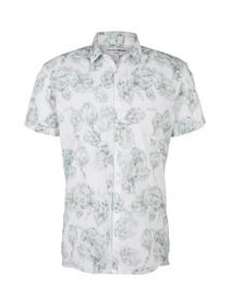 printed short sleeve shirt - 26963/white artichoke
