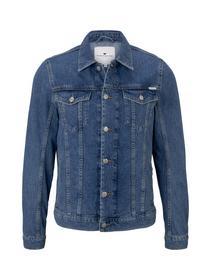 trucker denim jacket - 10281/mid stone wash denim