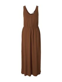 jersey maxi dress with buttons