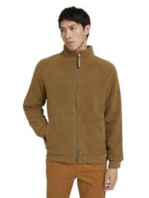 teddy stand-up jacket