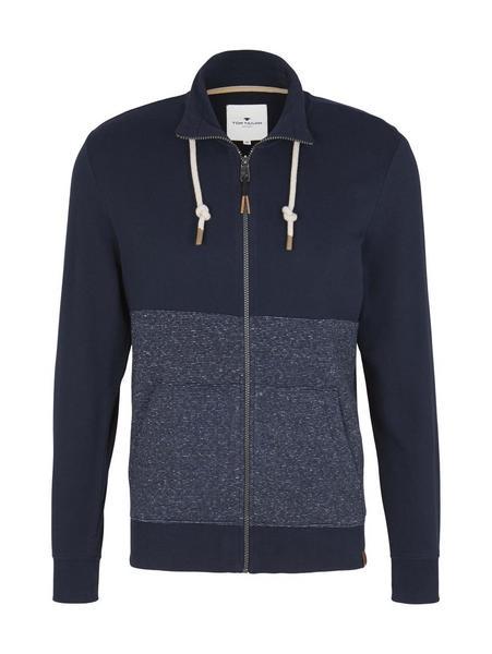 sweat hoodie jacket, Sky Captain Blue