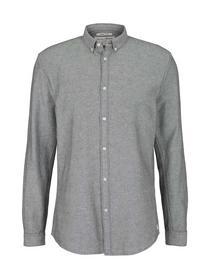 organic twill shirt, navy off white twill