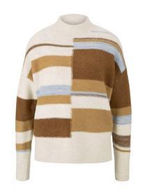 cozy striped pullover