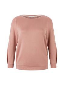 sweatshirt with sleevedetail