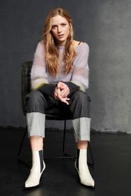 Pullover mit Digital-Print, lilac