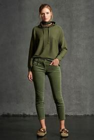 Highstretch-Velvet-Denim, vegetal green