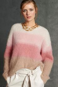 Pullover mit Dégradé-Effekt, red