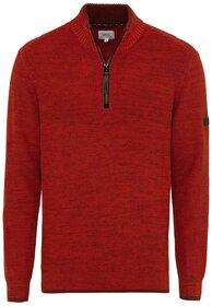 Troyer Pullover aus Baumwoll-Mix