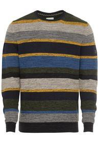 Gestreifter Pullover aus einem Baumwollmix