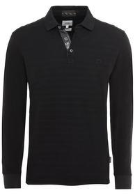 Langarm-Poloshirt aus Organic Cotton