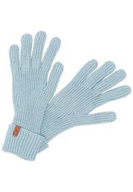 Strickhandschuhe mit Markenlabel