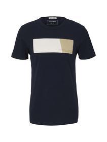 T-shirt with print, Sky Captain Blue