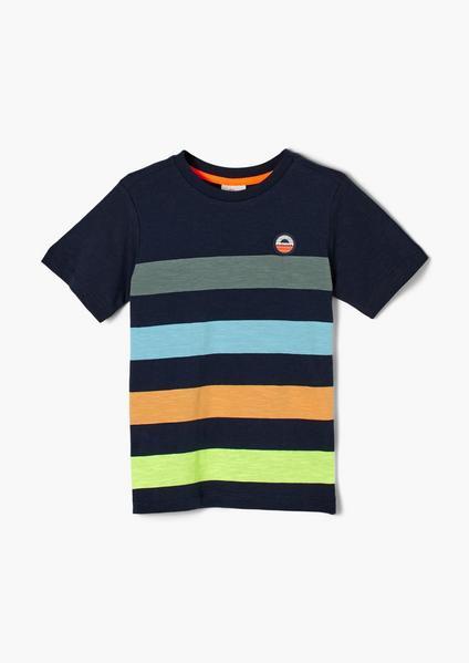 T-Shirt kurzarm, dark blue
