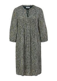 Kleid kurz, brown AOP