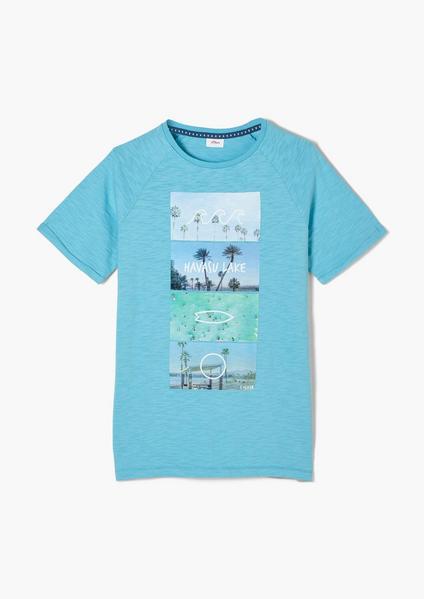 T-Shirt kurzarm, Blue
