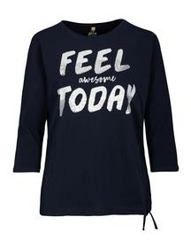 Shirt, mit Frontapplikation