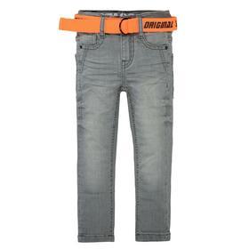 Kn.-Jeans,Skinny + Gürtel