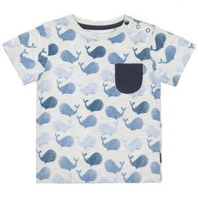 Kn.-T-Shirt - 808/WHALE AOP