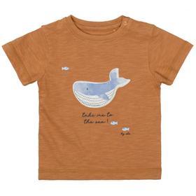 Kn.-T-Shirt - 702/SOFT CAMEL