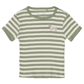 Md.-Streifen-T-Shirt - 505/KHAKI-STR