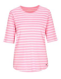 (S)NOS Rdh.-Shirt,1/2 Arm,Stre - 418/418 PINK-WEIS