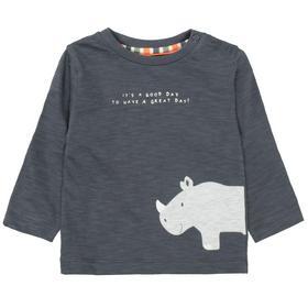 Kn.-Shirt - 807/SOFT ANTHRA