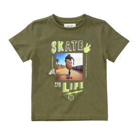 Kn.-T-Shirt - 500/OLIVE