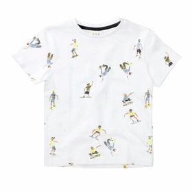 Kn.-T-Shirt - 100/WHITE-AOP