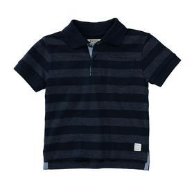Kn.-Polo-Shirt - 602/NAVY