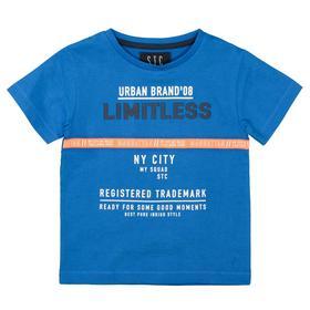 Kn.-T-Shirt - 600/BLUE