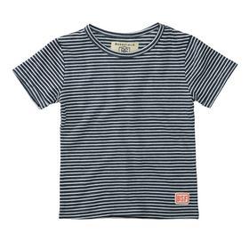 Kn.-T-Shirt - 602/NAVY STR.