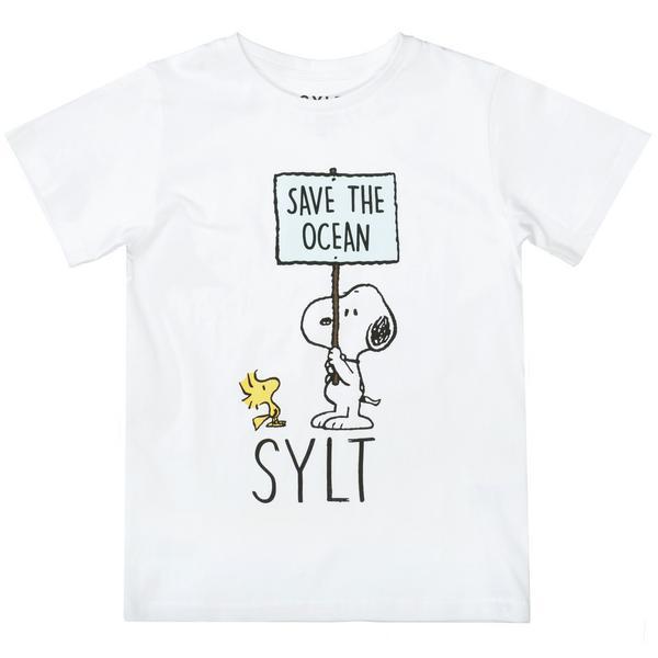 Ki.-T-Shirt Snoopy Schild
