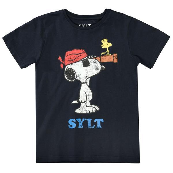 Ki.-T-Shirt Snoopy Fernglas