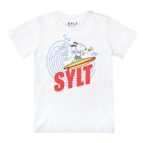 Da.-T-Shirt Snoopy Welle