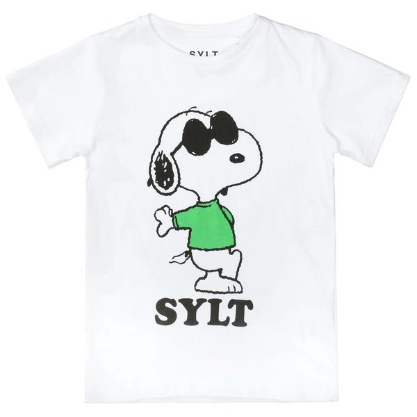 He.-T-Shirt Snoopy Green