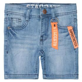 Kn.-Jeans-Bermudas - 643/LIGHT BLUE DENIM