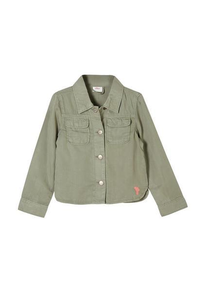 Jacke langarm - 7807/khaki/oliv