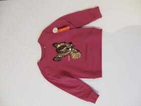 Mädchen Sweatshirt - Dark Rose