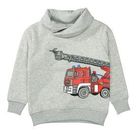 Kn.-Sweatshirt - 802/GREY MEL.