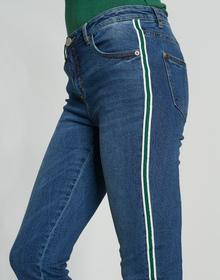 Ely green stripe
