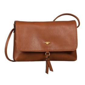 LUNA Flap bag, cognac - 22/cognac